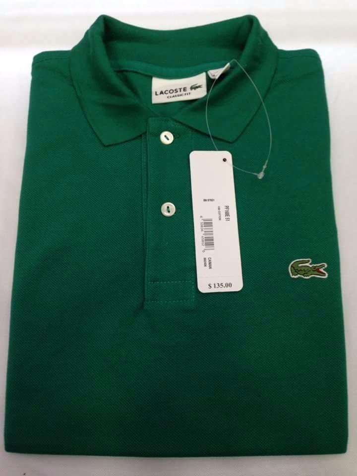 Camiseta Lacoste Hombre Tipo Polo Original -   224.000 en Mercado Libre 50fd6bd568bb2