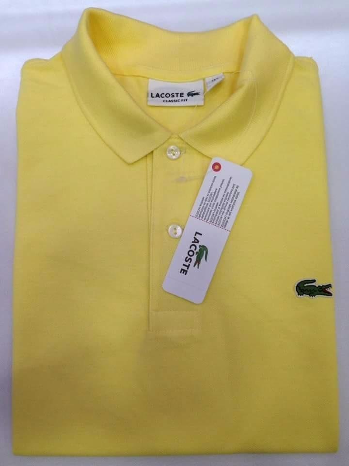 Camiseta Lacoste Hombre Tipo Polo Original -   224.000 en Mercado Libre 5cde98de63c61