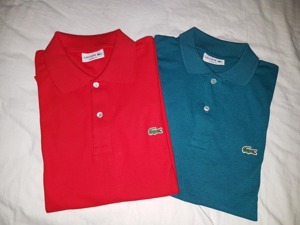Camiseta Lacoste Hombre Tipo Polo Original -   155.000 en Mercado Libre a3dc3b5e81bc1