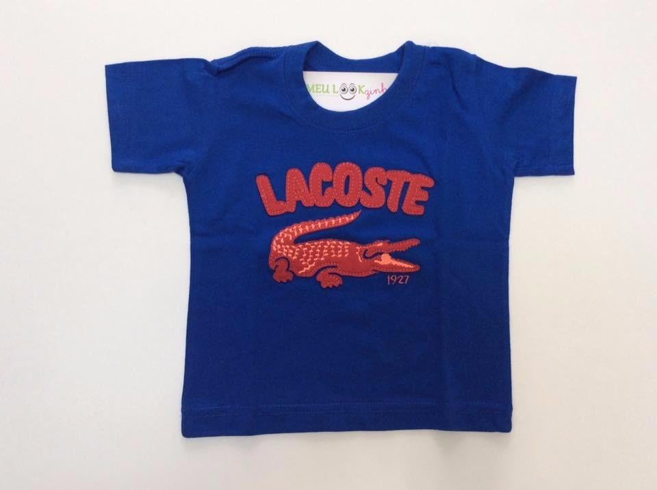 0262bad05c7 camiseta lacoste infantil. Carregando zoom.