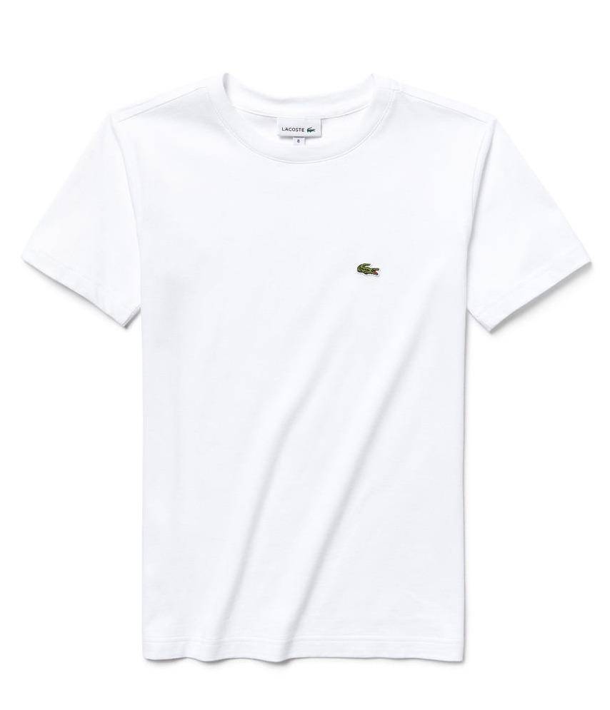 dd59a7423c6 camiseta lacoste infantil branca. Carregando zoom.