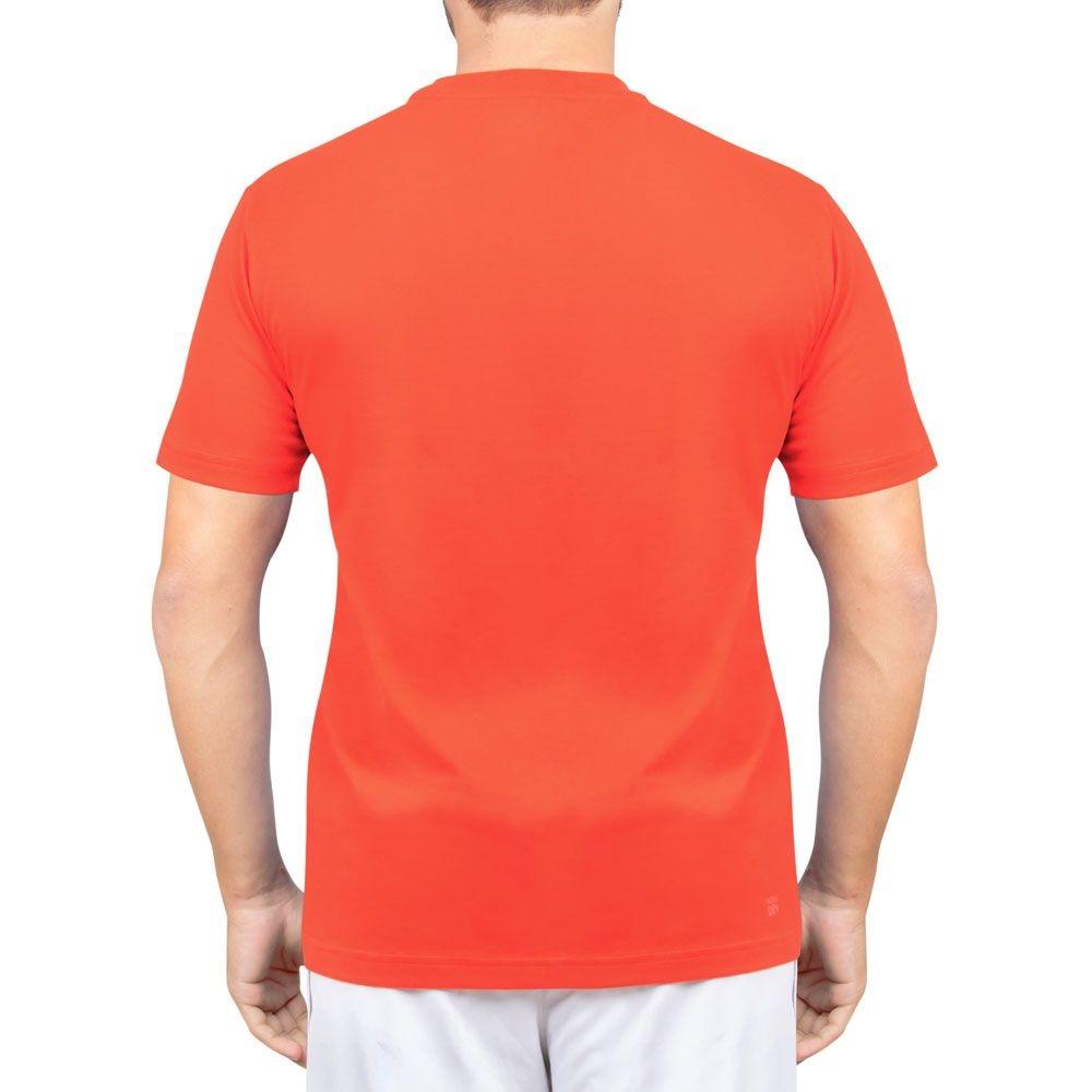 d83f56ab7d camiseta lacoste lisa tennis 1 laranja. Carregando zoom.