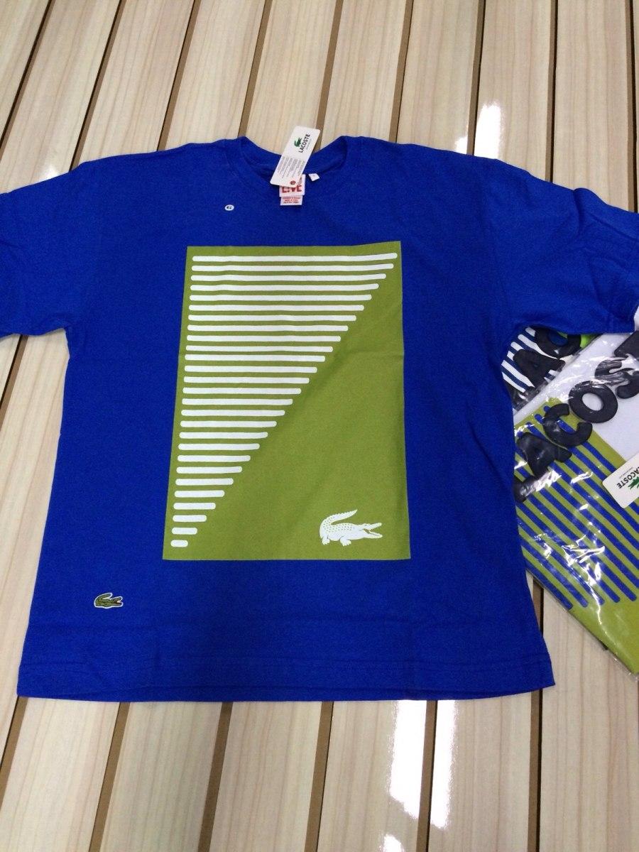 Camiseta Lacoste Live - R  89,99 em Mercado Livre e30512c44a