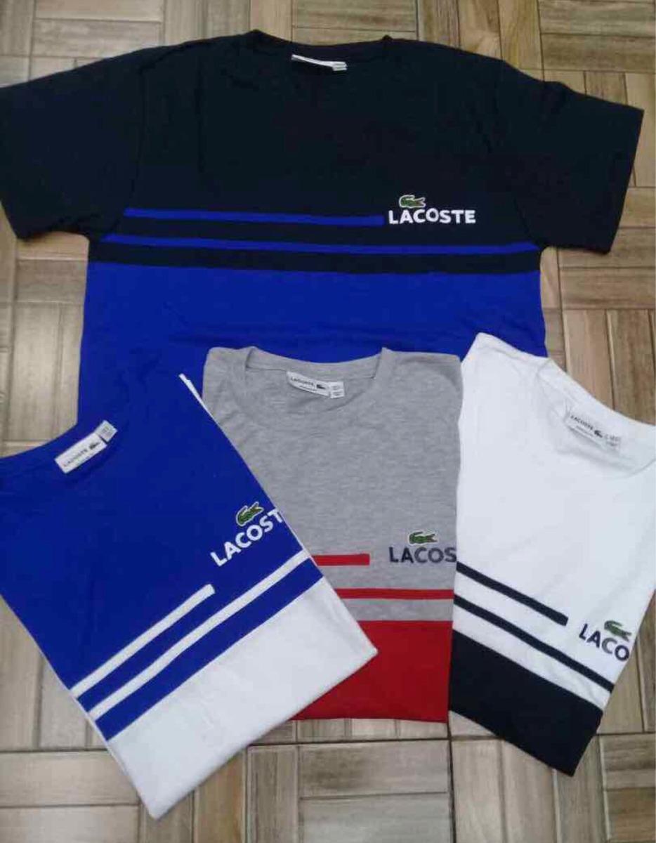 616580b3cb9 camiseta lacoste live camisa algodão peruana camisetas. Carregando zoom.