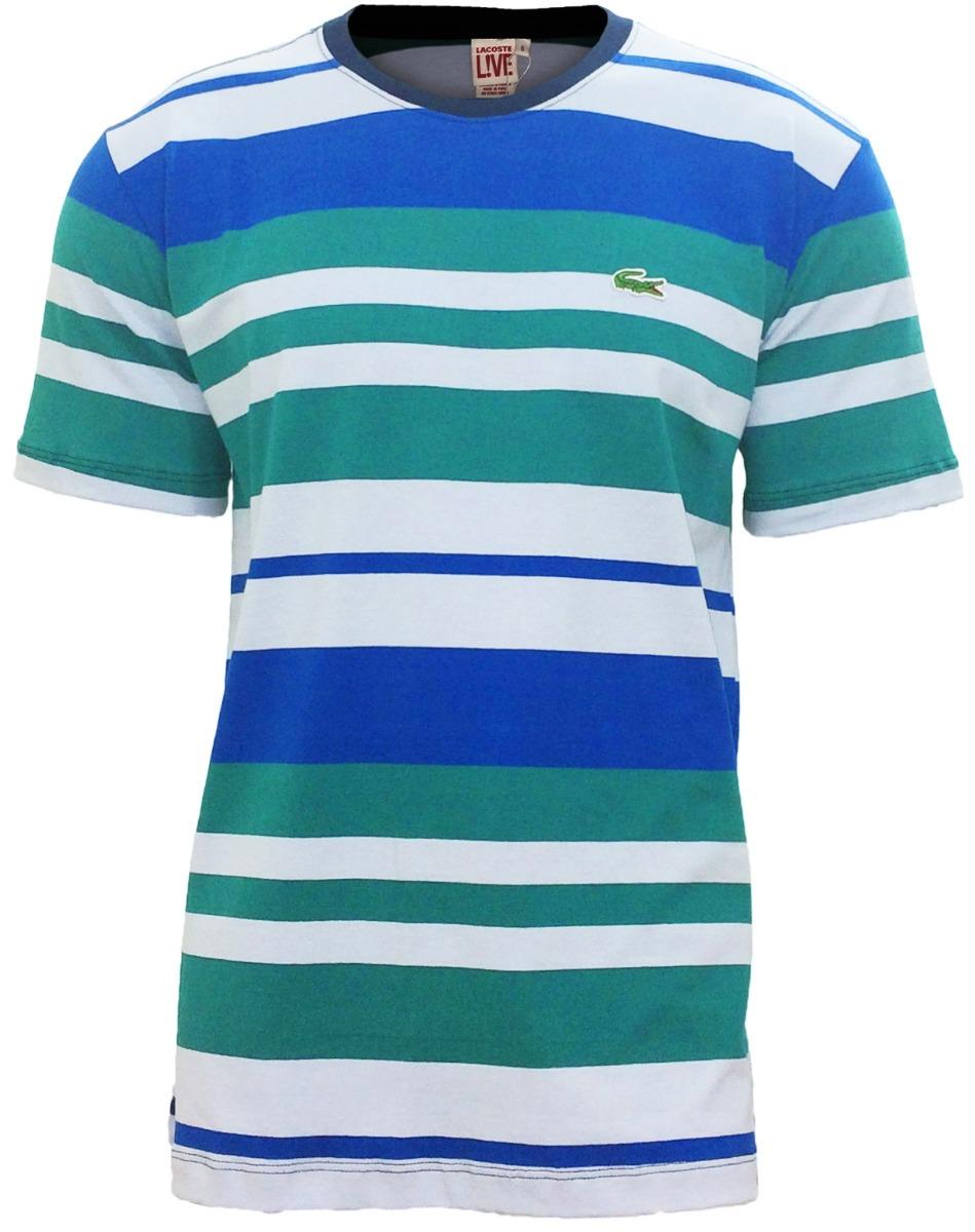 camiseta lacoste live lançamento azul bebe c  verde cl12. Carregando zoom. 50f1f077f9