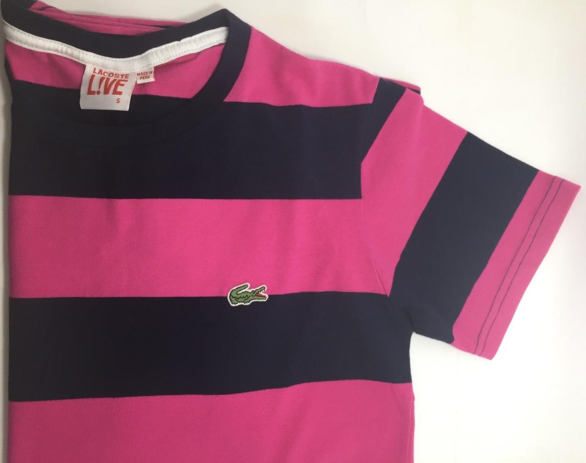 camiseta lacoste live listrada casual moda masculina jacare. Carregando  zoom. c8f5f67a62