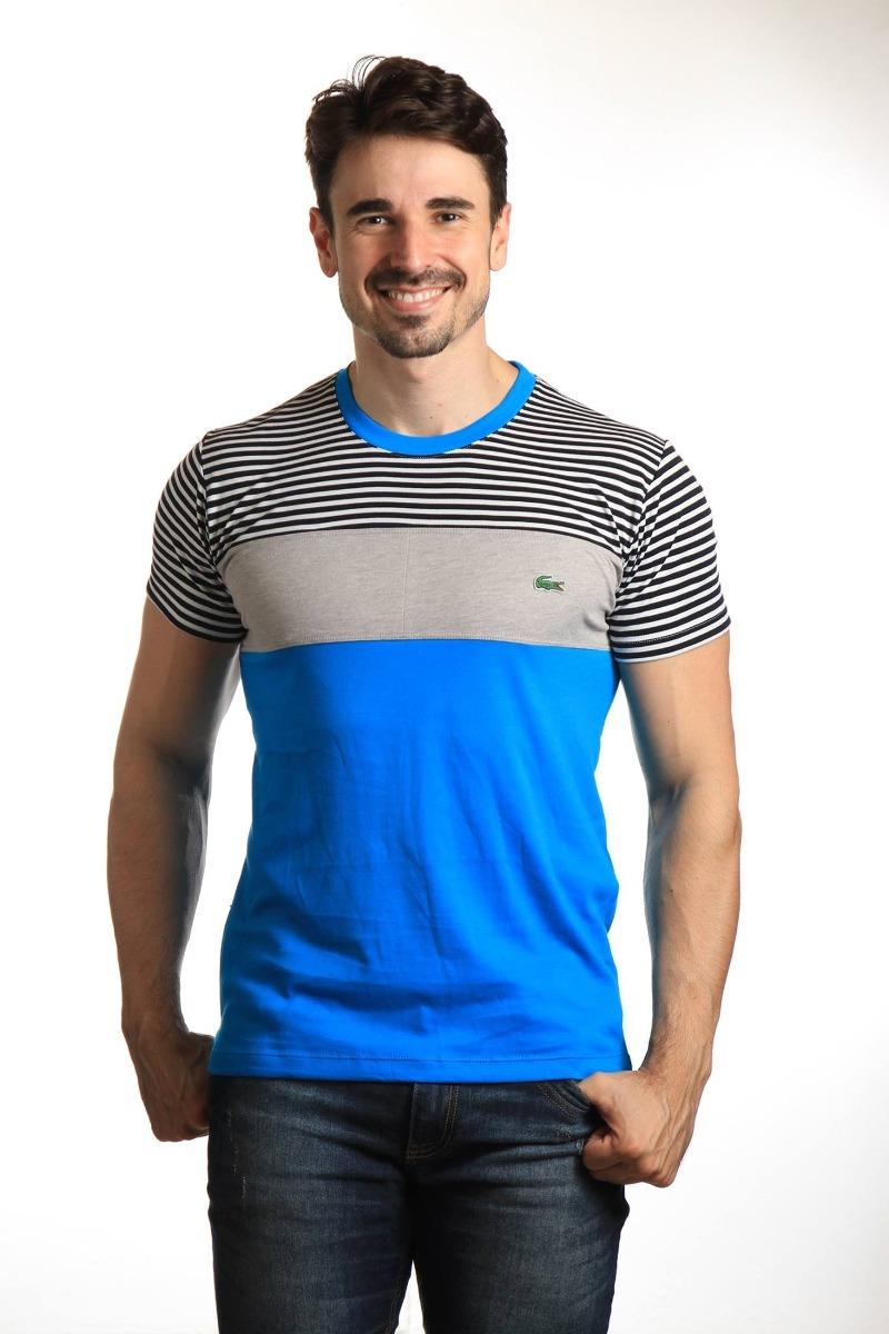 camiseta lacoste live masculina original polo camiseta aj. Carregando zoom. 4b7a945c9e