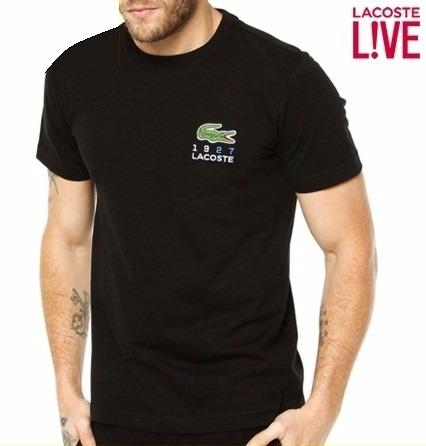 aadc3d1fc55 Camiseta Lacoste Live Masculina Original Polo Camiseta Aj - R  98