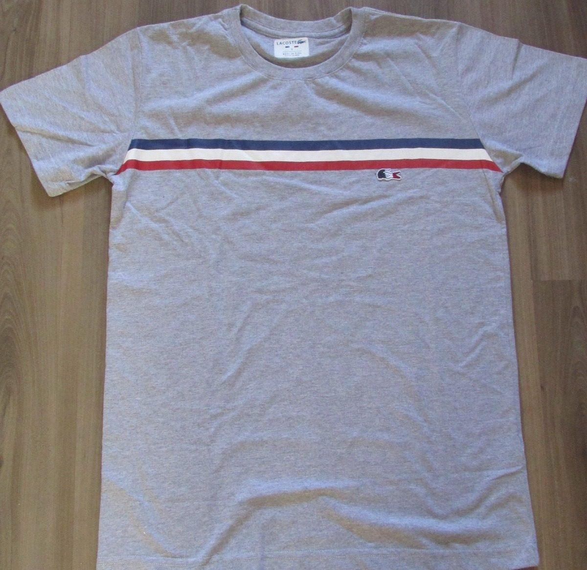 Camiseta Lacoste Live Original Peruana Promoção France - R  75,99 em ... a64c780895
