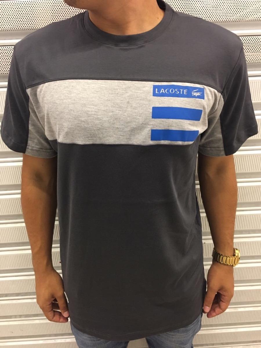 342df4aba95da Camiseta Lacoste Live Original Verão 2018 - R  134,99 em Mercado Livre
