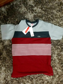 82cc25f6d25 Camiseta Lacoste Live - Calçados
