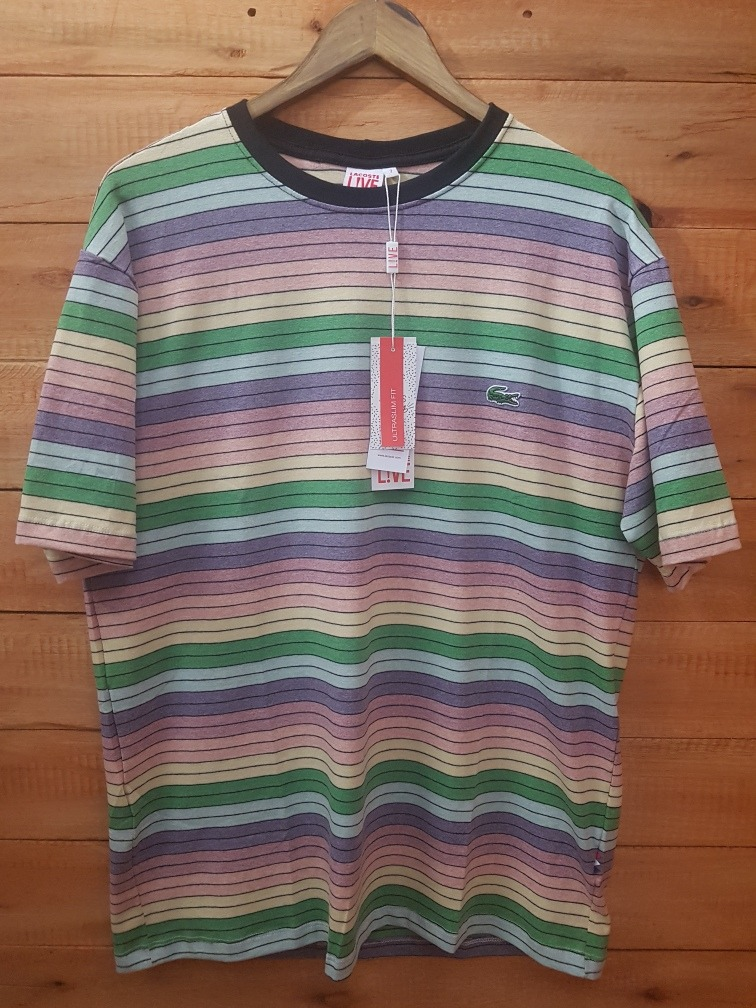 camiseta lacoste live peruana arco iris novo modelo agosto. Carregando zoom. f76b6bbfd2