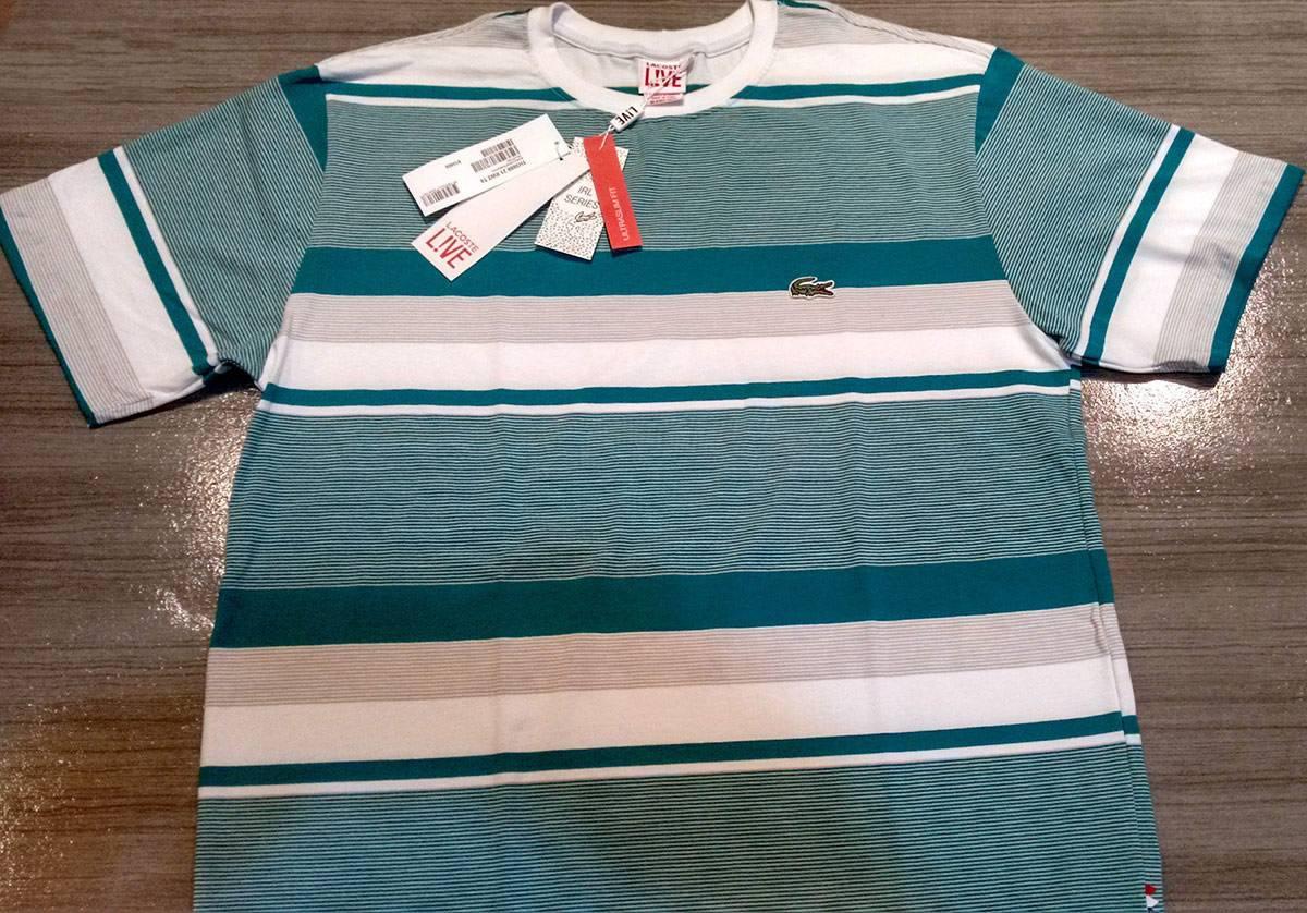 7764d02ce41f3 camiseta lacoste live várias cores frete grátis. Carregando zoom.
