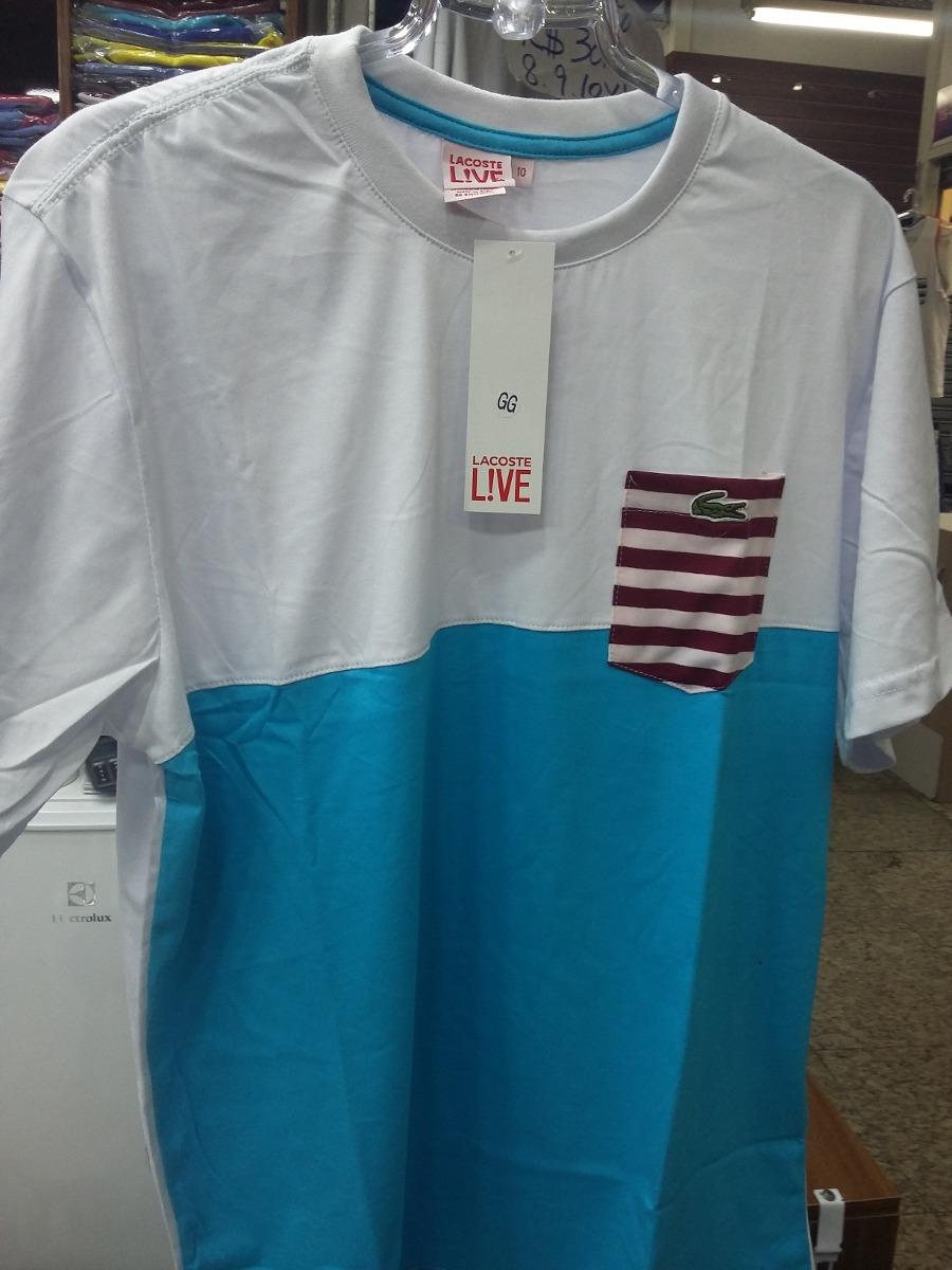 camiseta lacoste masculina manga curta. Carregando zoom. 99d6034f6e2