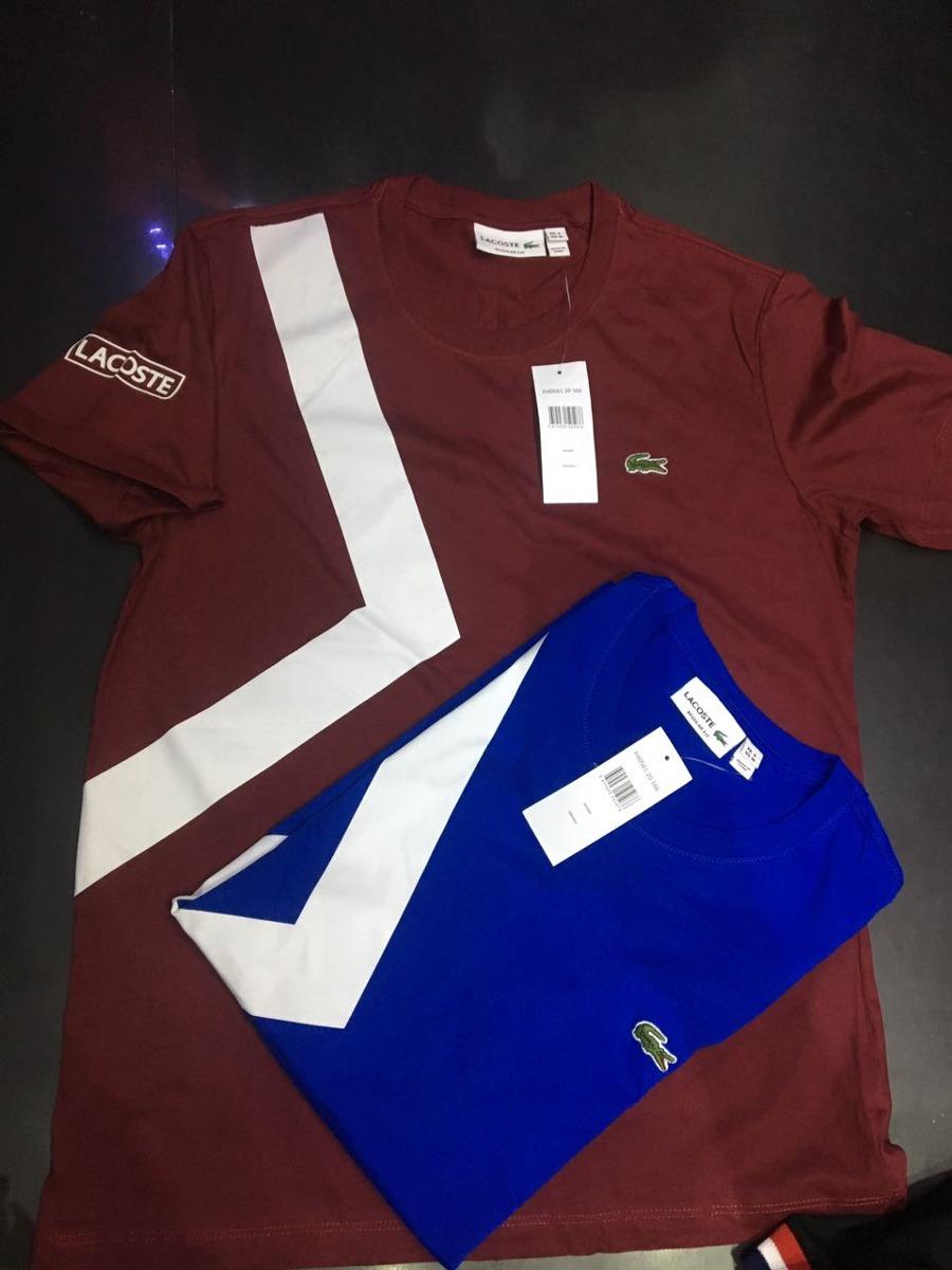 Camiseta Lacoste Nova Coleçao Melhor Preço Do Brasil + Frete - R ... 1650431880