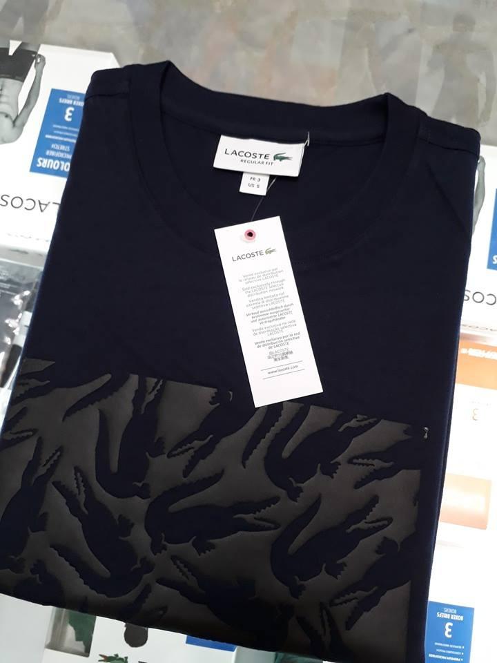 ae172d3bdf55b camiseta lacoste original 2019 várias cores frete grátis. Carregando zoom.