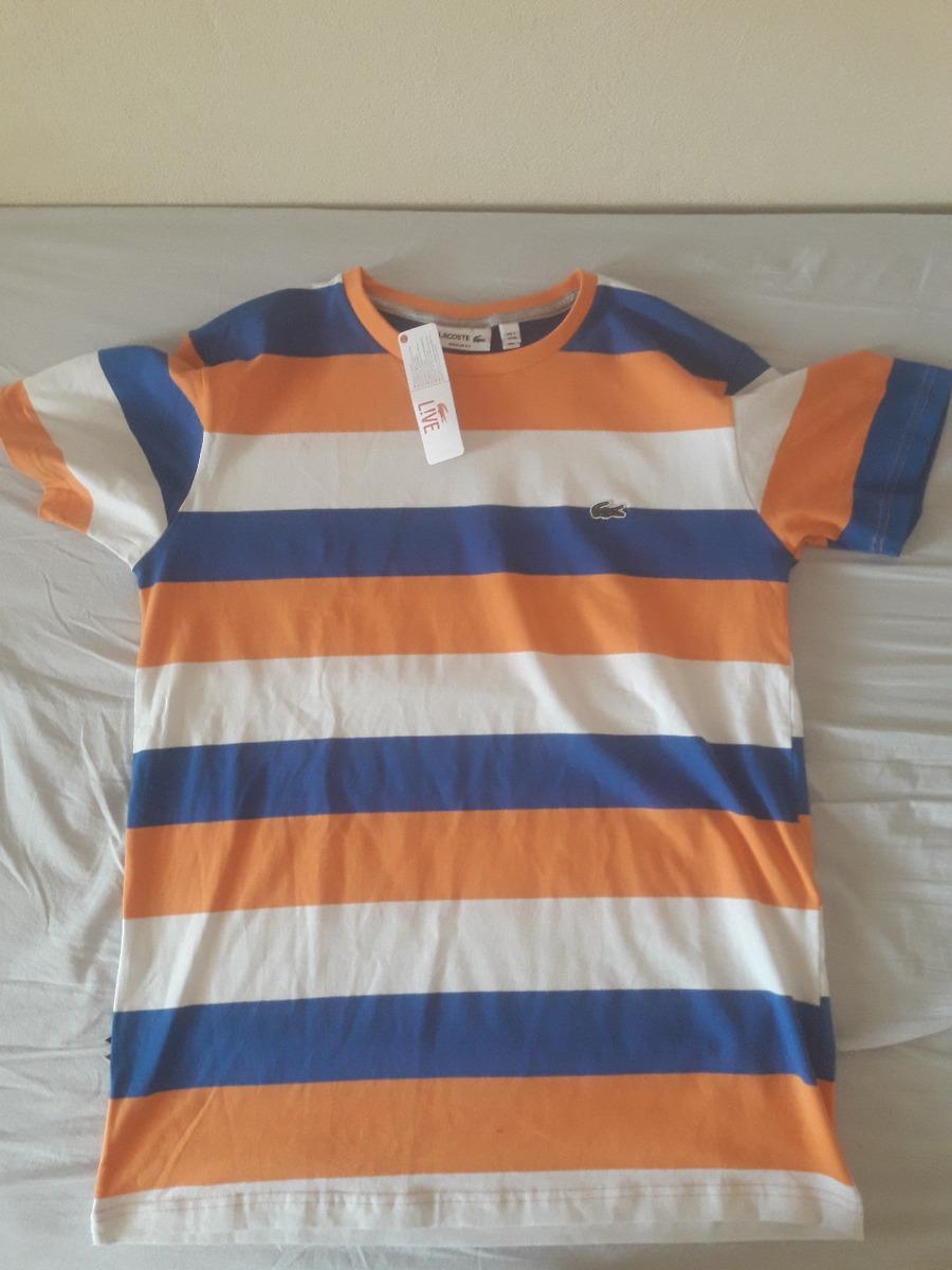 47b0e6d27b Camisetas Moda Masculina LACOSTE  b01dc24561 camiseta lacoste  original importada do peru - peruana 1. Carregando zoom. b2d256e430 ... b0bfffb548
