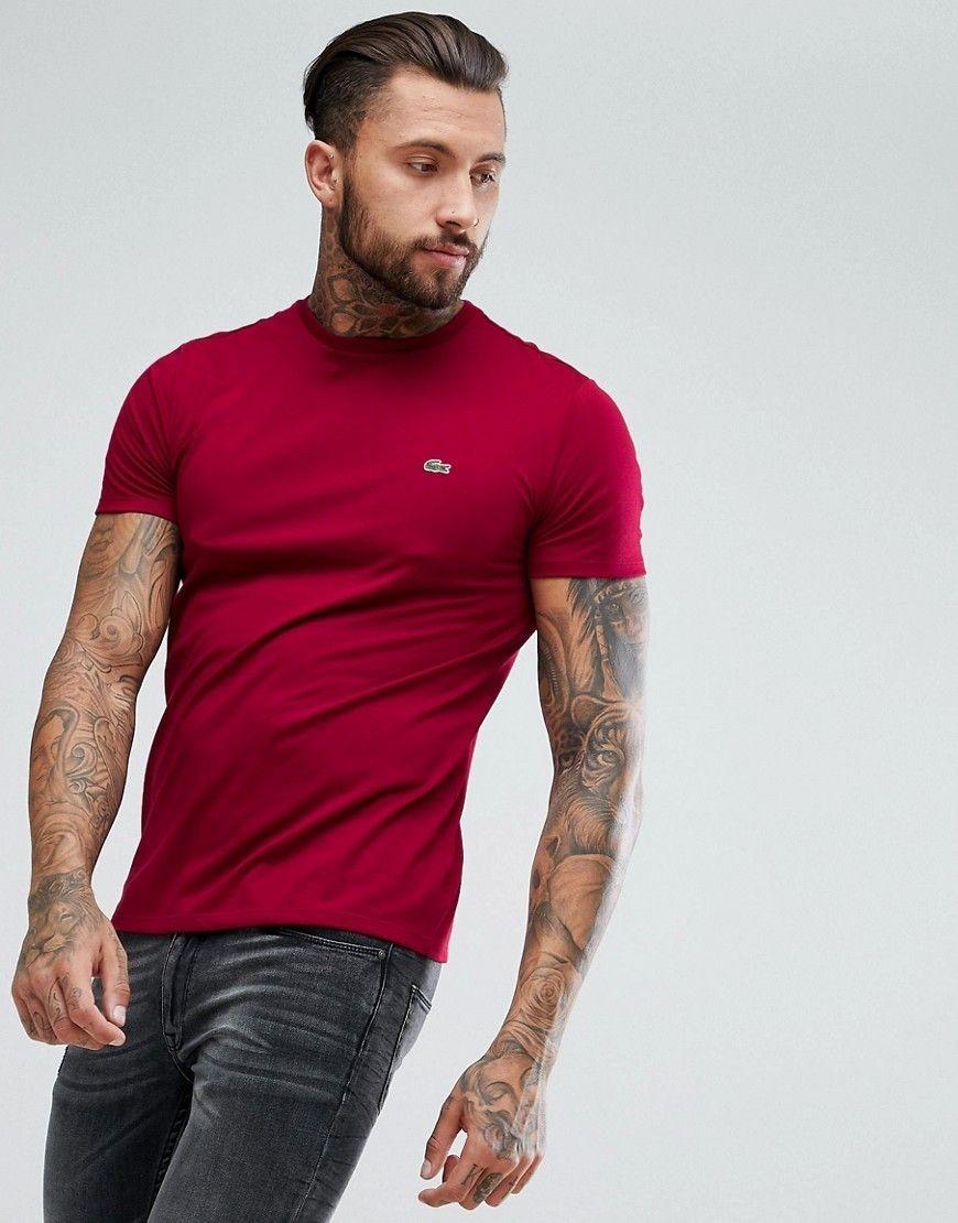 814cf4694e579 camiseta lacoste original made in peru 100% algodão pima. Carregando zoom.