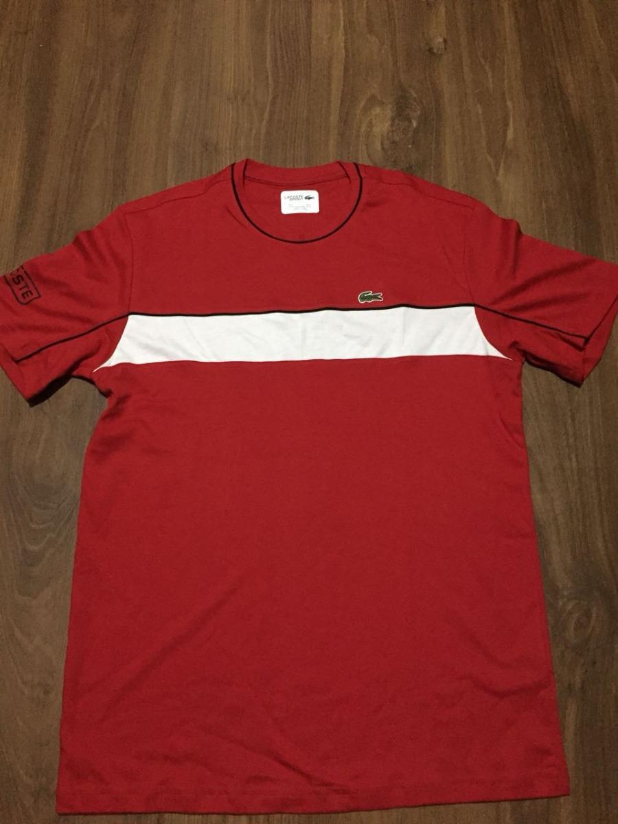 7f9d2e082943d Camiseta Lacoste Original Peruana Em Pima - R  120,00 em Mercado Livre