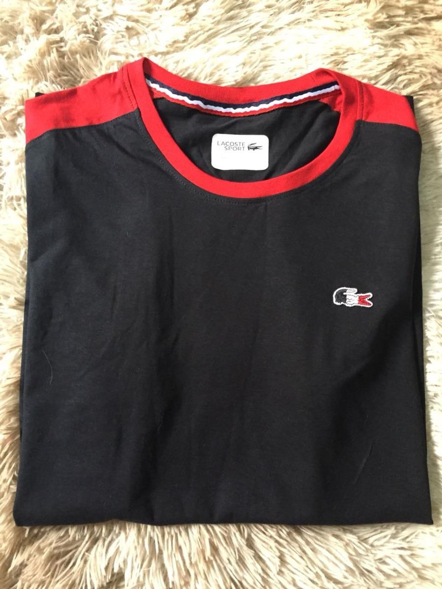 4cface2219664 Camiseta Lacoste Original Sport France Peruana Em Pima - R  80,00 em ...