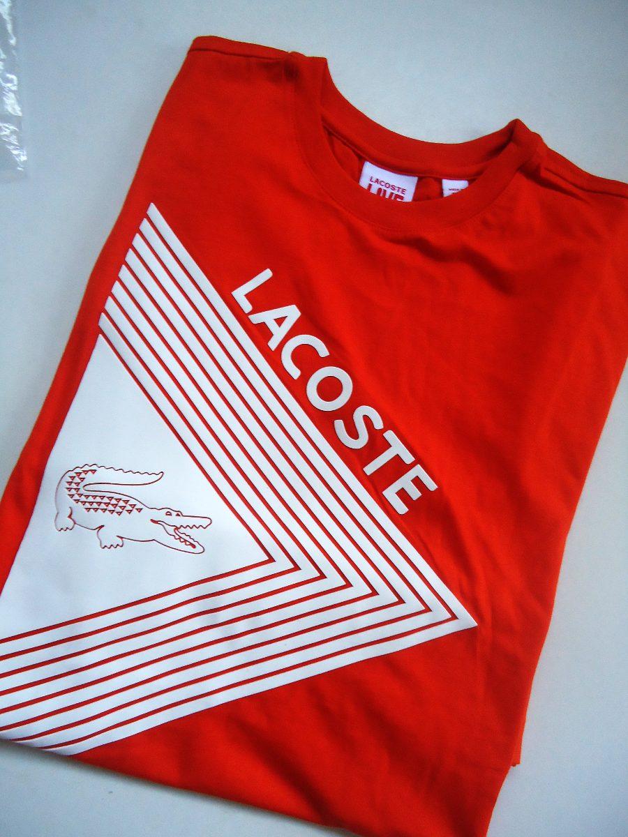 4a5ffa9bcac camiseta lacoste peru - t-shirt 02. Carregando zoom.
