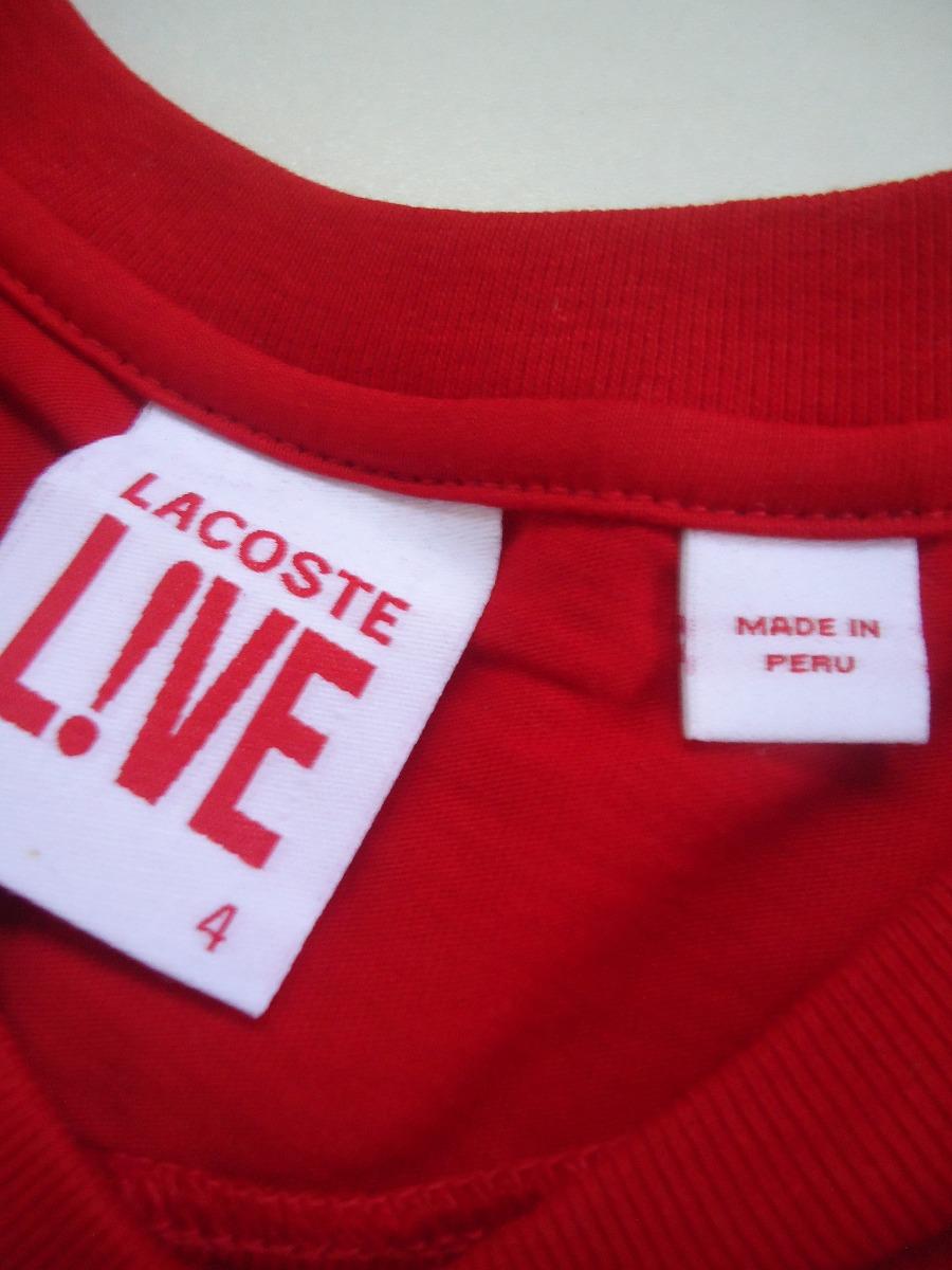 caf1deee647 camiseta lacoste peru- t-shirt. Carregando zoom.