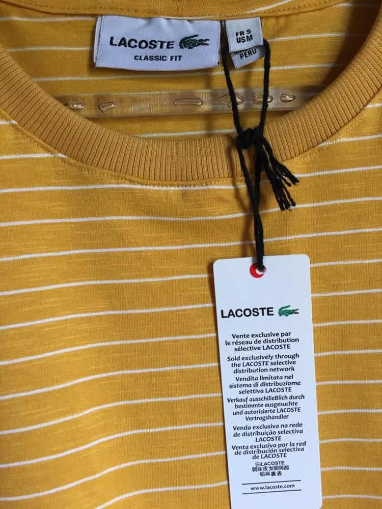1fcb987e7bd85 camiseta lacoste peruana. Carregando zoom.