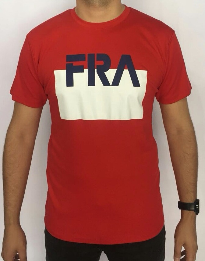 camiseta lacoste sport países frança importada perú vermelha. Carregando  zoom. 0c768725230d9