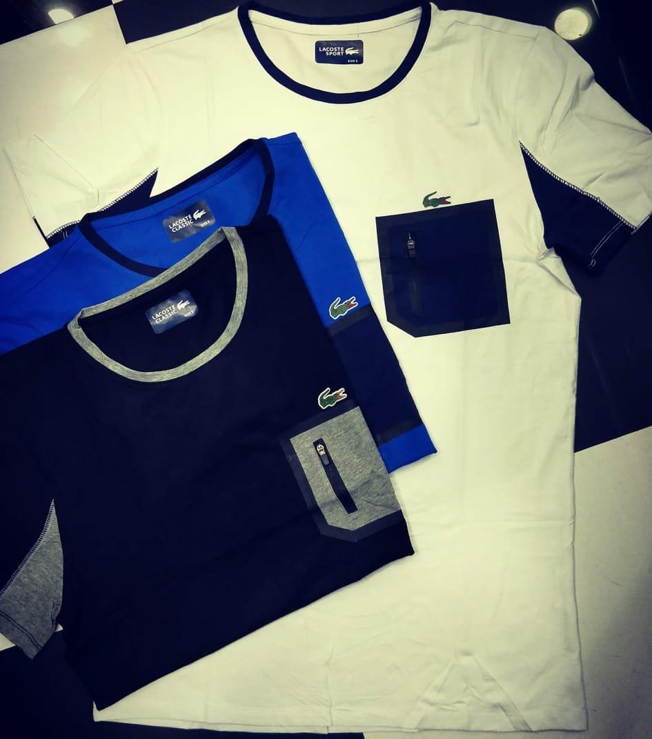Camiseta Lacoste Sport Tennis Masculina - R  120,00 em Mercado Livre f757dbc75e