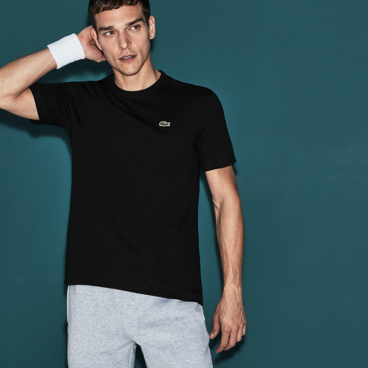 a9942d12b3523 camiseta lacoste ultra dry sport de jersey tecnológico. Carregando zoom.
