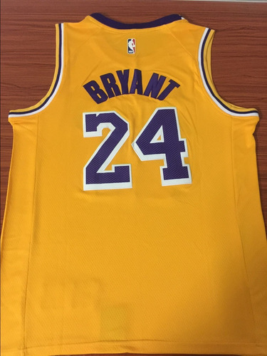 super popular e28b0 47b07 Camiseta Lakers 24 Bryant Pronta Entrega Frete Grátis