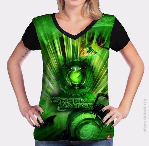 camiseta lanterna verde - cidade do herói