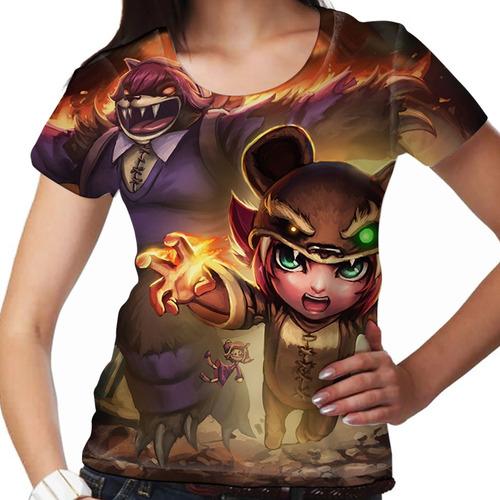 camiseta league of legends annie reversa feminina