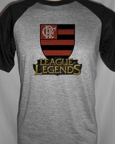 31adf8a2d8 Eva Do Flamengo - Camisetas Masculinas Cinza-escuro Curta com o ...