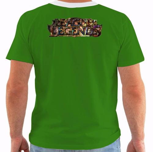 camiseta league of legends - singed químico louco - lol 083