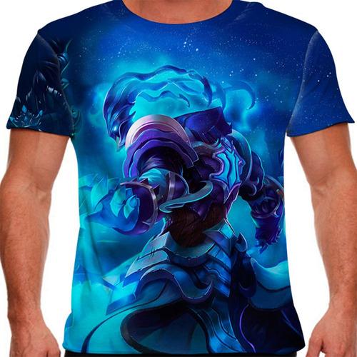 camiseta league of legends thresh campeonato masculina
