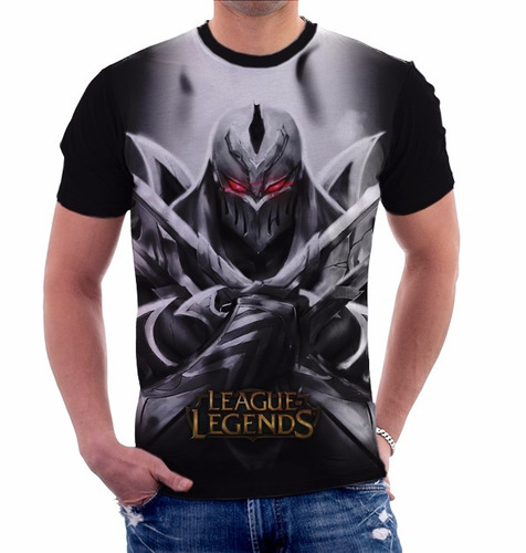 camiseta league of legends zed - camisa game