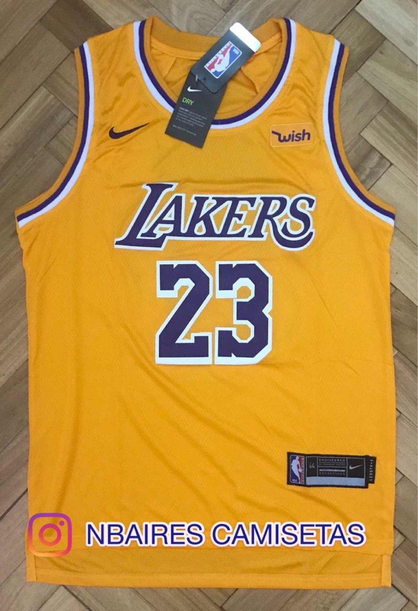 98334112c camiseta lebron james lakers en stock. Cargando zoom.