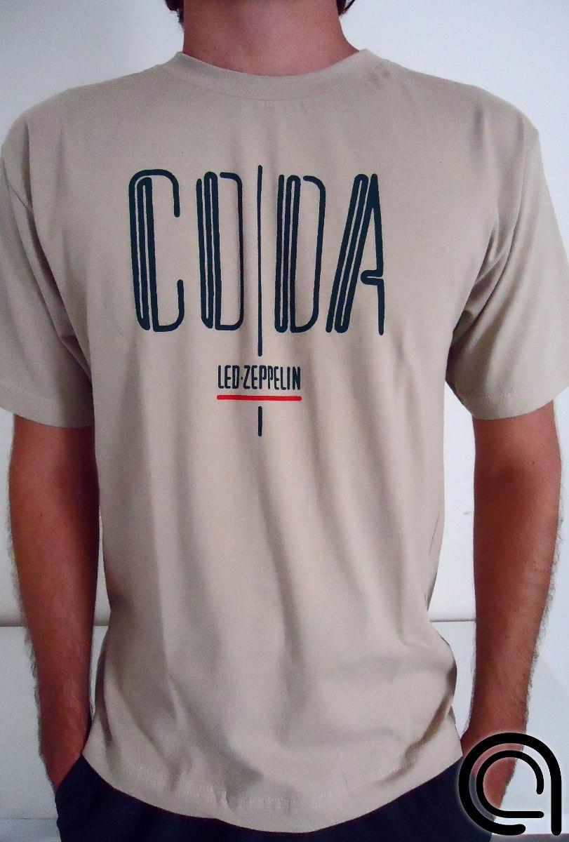 2ca4d909b0 Camiseta Led Zeppelin Coda Rock n roll Setentista - R  44
