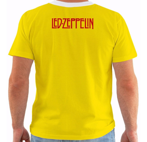 camiseta led zeppelin - concert poster - celebration day