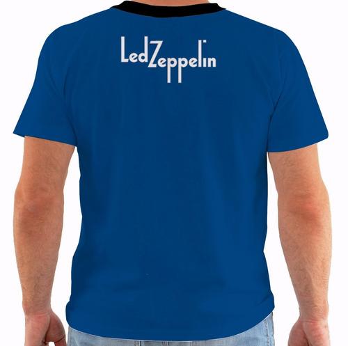 camiseta led zeppelin - concert poster - live san francisco