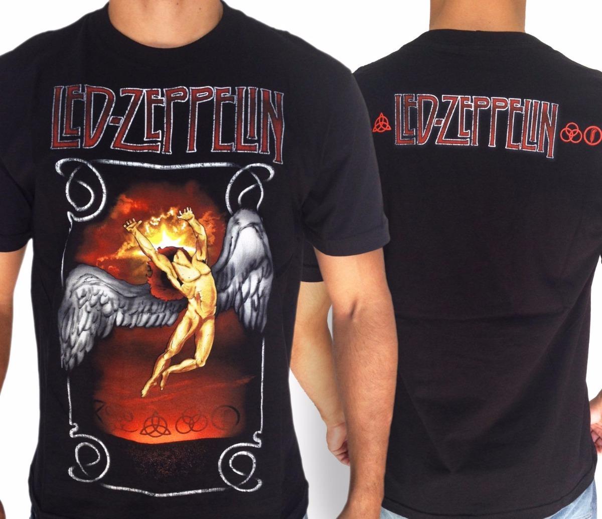 16d01cc869 camiseta led zeppelin - ícaro - consulado do rock. Carregando zoom.