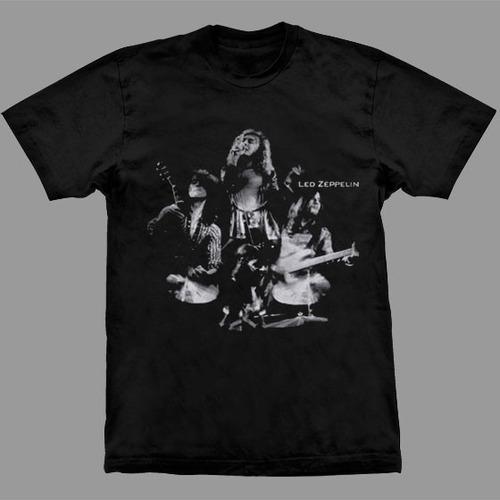 camiseta led zeppelin photo band live.