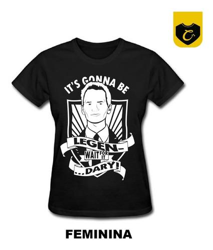 camiseta legendary (how i met your mother) camisa / blusa