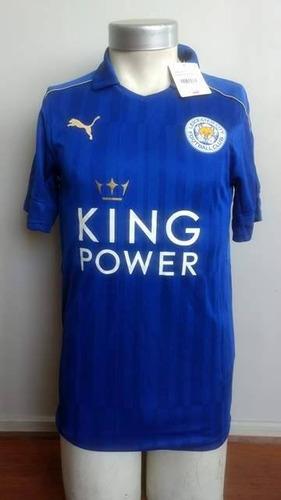 7d1a96feb349b Camiseta Leicester City 2016-2017 Titular Puma Original Nuev ...