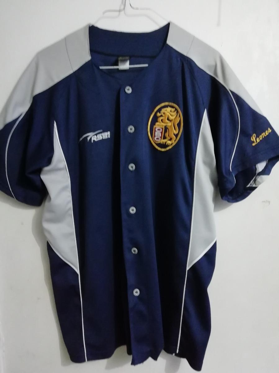 Camiseta Leones Del Caracas Azul Marino Talla M Poco Uso - Bs ... 8b7fb57ffcf