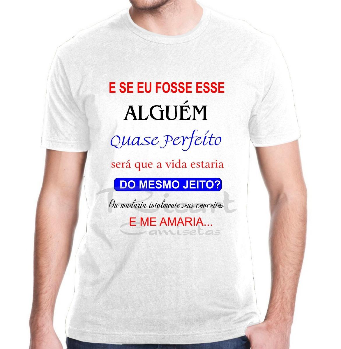 Camiseta Letra De Música Trechos Frases Henrique E Juliano R 30