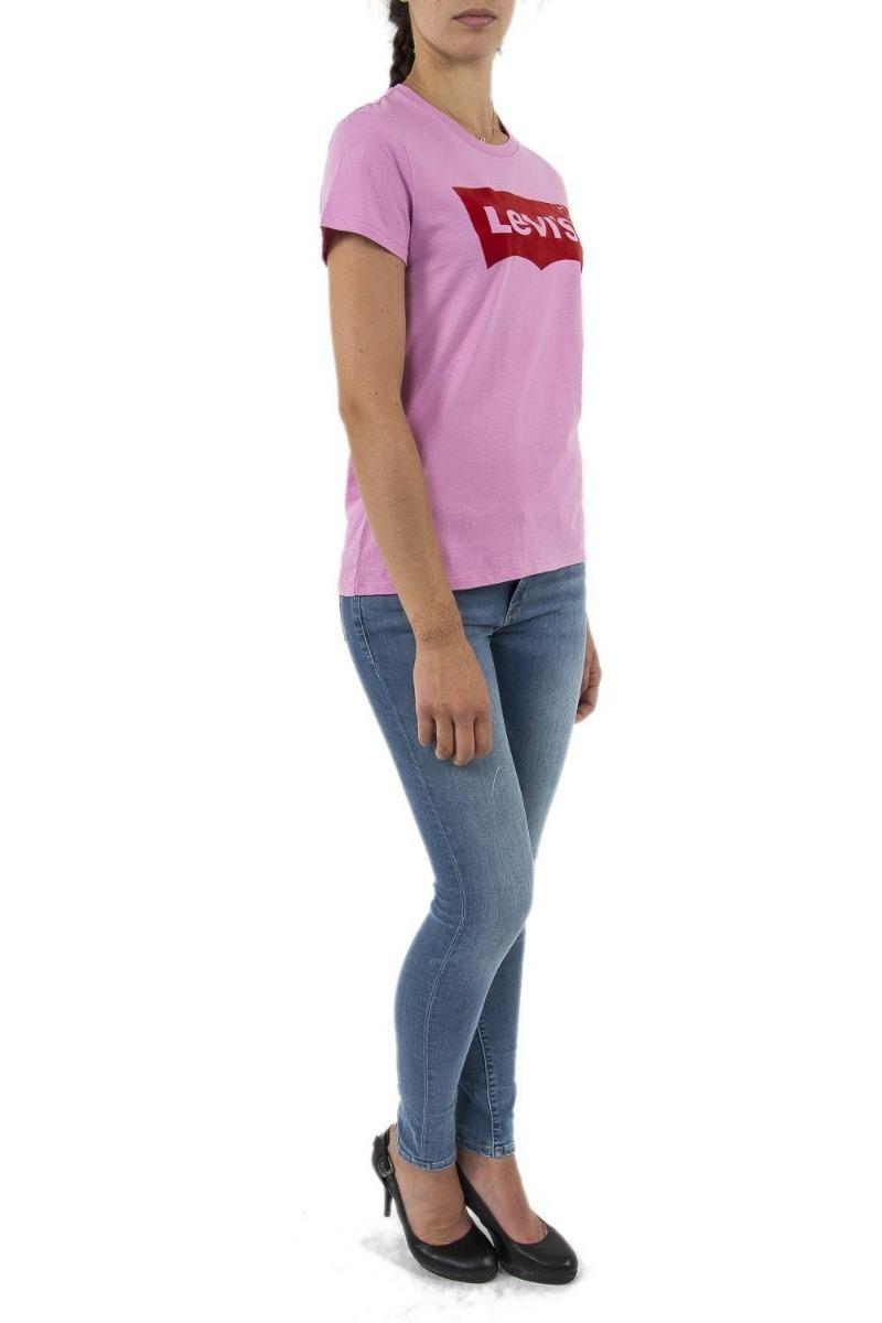 camiseta levi s baby look feminina original importada. Carregando zoom. 7073e1c7377
