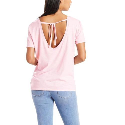 d7b40c37fb Camiseta Levis Feminina Chelsea Rosa - R  69