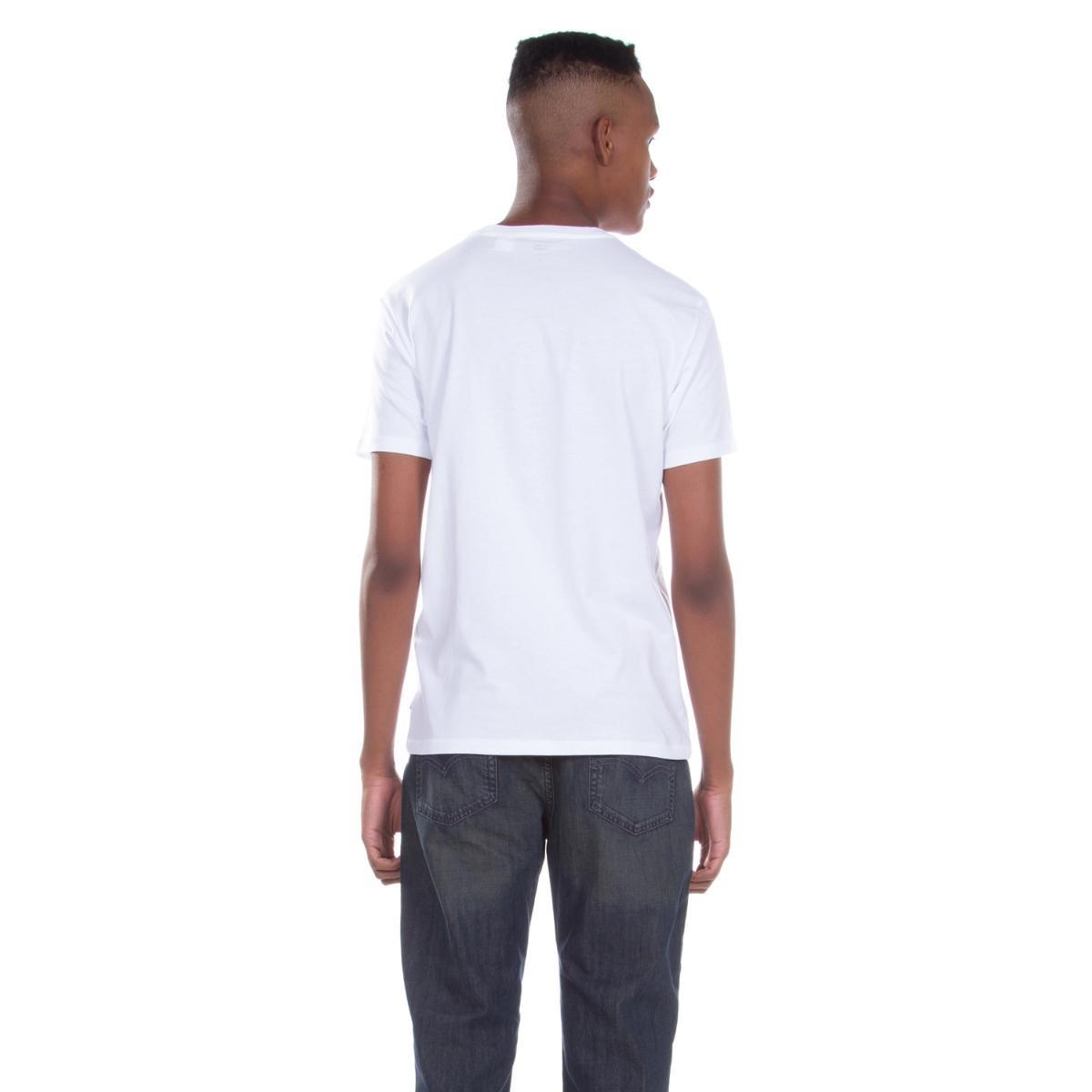 camiseta levis masculina logo 2 horse branca. Carregando zoom. bc6039305c5